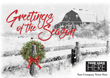 Country Greetings Holiday Logo Cards
