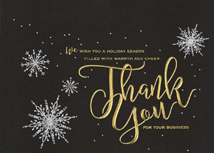Starlight Gratitude Holiday Cards
