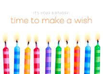 Wish Time! Happy Birthday Cards